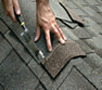 Roofing contractor providing roof repair